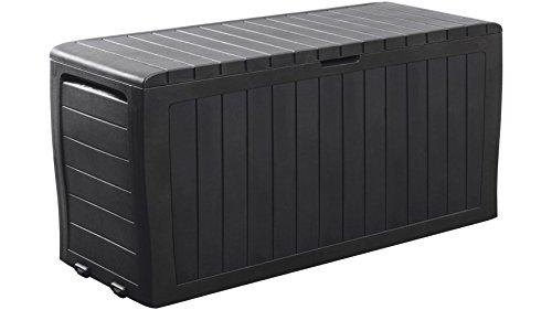 KETER Auflagenbox Marvel Plus Box 270 l, 116,7x44,7x57 cm, Polypropylen, anthrazit