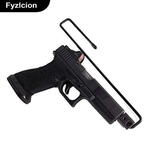 WQ-Hunting, 2er-Pack Pistol Rack Zubehör Einfach für Regale und Tresore Original Pistol Safe Storage Handgun Hangers Solution