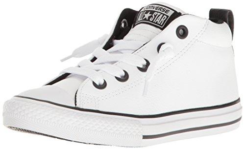 Converse Kids CTAS Street-Mid-White-K White/White/Black