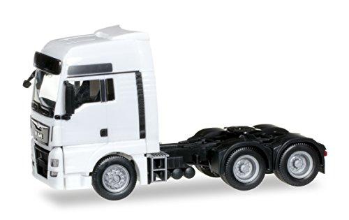 Herpa - 305082 - Man TGX XXL Euro6 6 x 4 Tracteur Blanc