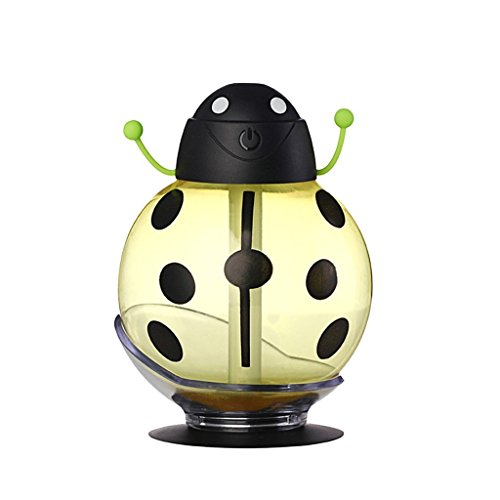 USB Portable Mini Ladybug Design Humidifier Home Office Car Air ...