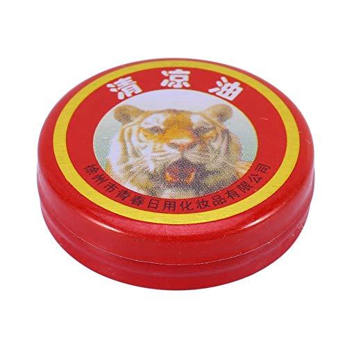 Aceite esencial - Tigre Bálsamo de bálsamo esencial Crema Dolor de cabeza rojo Mareo Bálsamo de Tigre Bálsamo (UnitCount : 5pcs)
