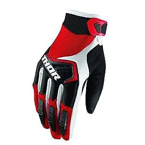 Thor Spectrum Motocross MTB Handschuhe 2018 - rot schwarz Weiss