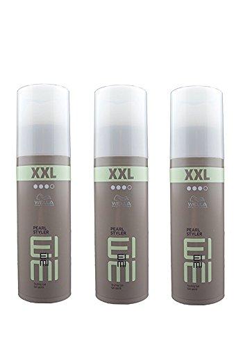 3 x Wella Styling Pearl Styler Styling Gel XXL 150 ml. - Wet-hair-look