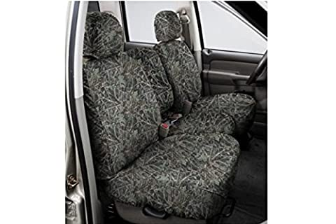 Covercraft SeatSaver Second Row Custom Fit Seat Cover for Select Chevrolet Silverado 1500/GMC Sierra 1500 Models - True Timber Polyester (Conceal Green) by Covercraft