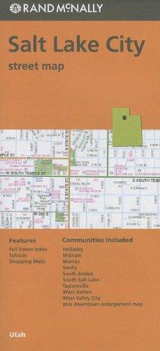 Rand McNally Salt Lake City, Utah Street Map