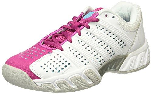 K-Swiss Performance Bigshot Light 2.5 Carpet, Chaussures de Tennis Femme Blanc - Weiß (WHITE/VERYBERRY 924)
