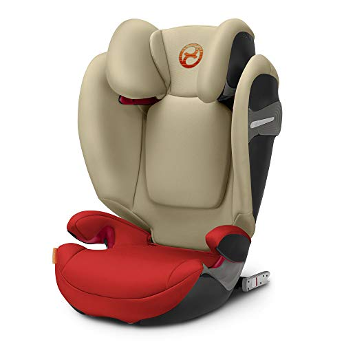 CYBEX Solution S-Fix Siège Auto Groupe 2/3 avec Isofix - Autumn Gold