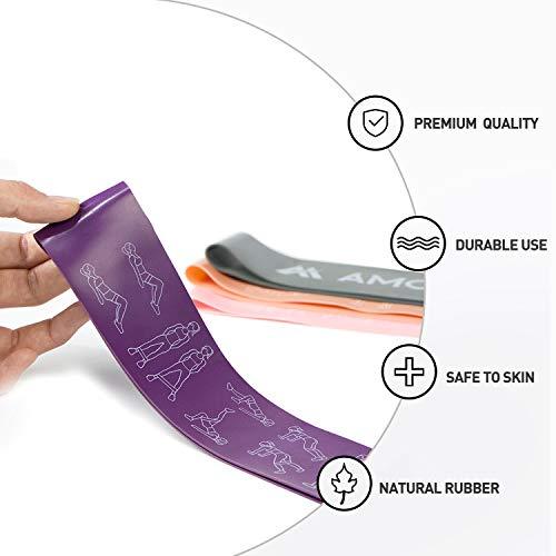 Zoom IMG-3 amonax elastici fitness set di