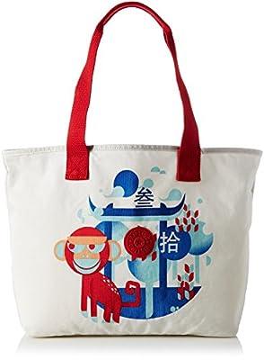 Kipling Women's Congratz Canvas and Beach Tote Bag