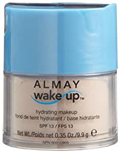 Almay Wake Up Hydrating Makeup / Fond De Teint Hydratant - 010 Ivory