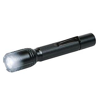 ANSMANN 1600-0035 Agent 2 LED Taschenlampe 16 cm mit Präzisionslinse und extrem robustem Gehäuse 3 Watt LED