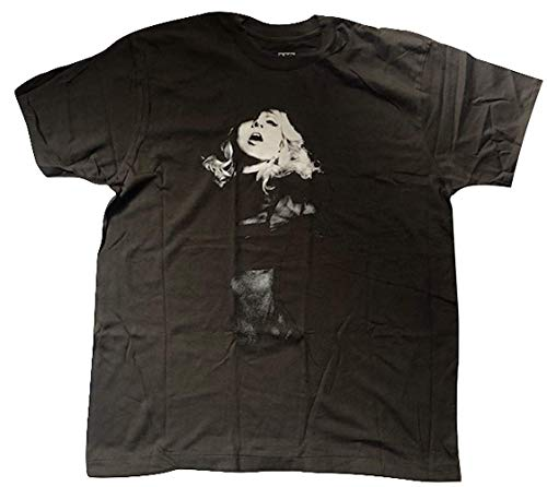 Madonna - Pegajoso & Sweet Tour (The Americas) - Oficial Camiseta para Hombre - Negro, Mediana