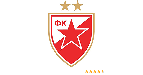 Red Star Belgrade Serbia Soccer Football Hochwertigen Auto Autoaufkleber 10 X 12 Cm Küche Haushalt
