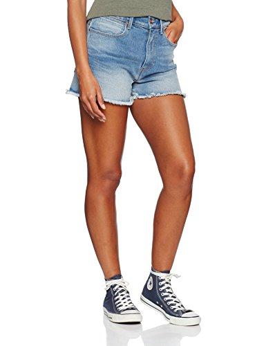 Wrangler Damen Vintage Short Fading Light Shorts Blau (Blue)