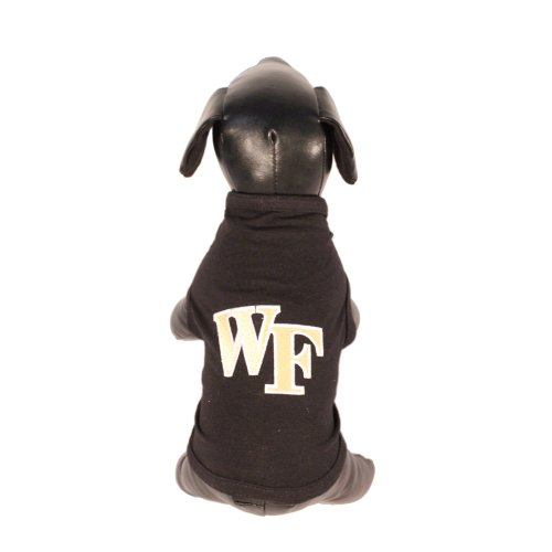 NCAA Wake Forest Dämon Diakone Baumwolle Lycra Hund Tank Top, unisex, Team Color
