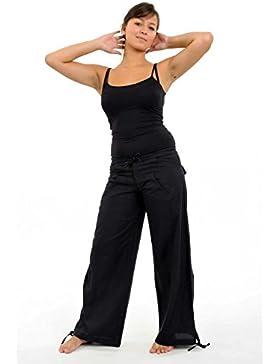 Fantazia híbrido-Pantalón para hombre, color negro