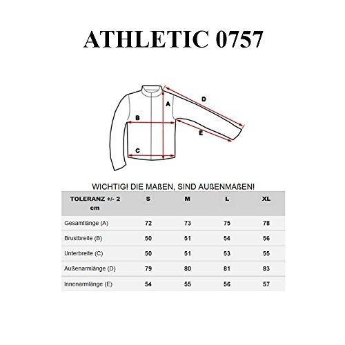BOLF – Sweat-shirt – Manches longues – U-neck – Longsleeve – Homme [1A1] Noir