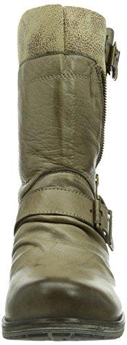 Biker 05 GARDA Buffalo A Grau Boots GROSSI TUFO RAMMI London ES 16001 Damen 77qawF48
