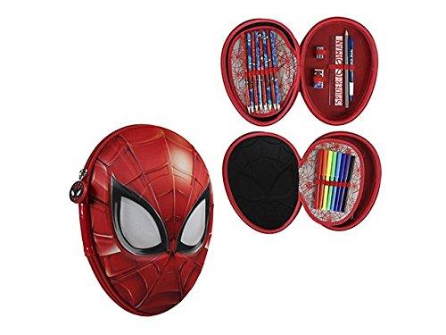 Spiderman Estuche 3d C/Colores 2700000208