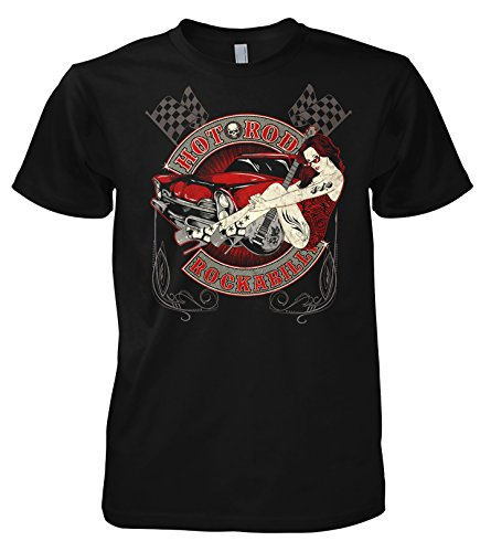 Rock Style Hot Rod Rockabilly 702338 T-Shirt 001 L