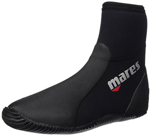 Mares Unisex Dive Boots Classic NG 5 mm, black/grey, 43 (US 10), 41261910050