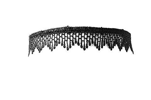 Accessoryo - femmes dentelle noire cascade