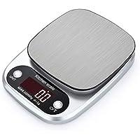 FCGVD HT-C305 Kitcken Scales 10kg / 1g Balanzas electrónicas de LCD de Acero Inoxidable