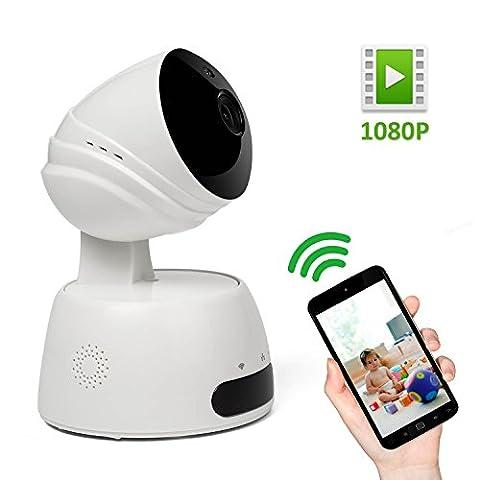 Wifi IP Security Camera, Elebor 1080P 2MP Wireless Pet Monitor