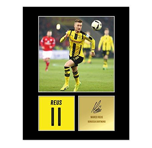 Signiertes Foto von Marco Reus, Borussia Dortmund