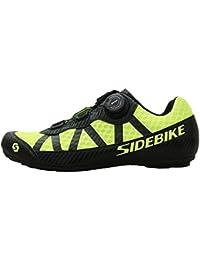 Zapatillas de bicicleta de carretera,Hombres y mujeres, zapatos de bicicleta de montaña y