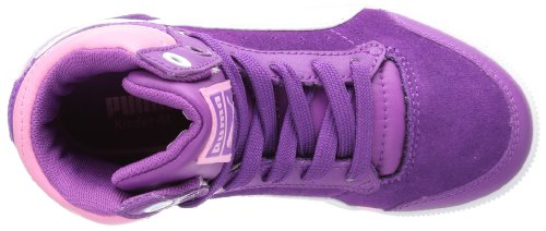 Puma Glyde Court Jr, Baskets mode fille Rose - Pink (sparkling grape-white-sachet pink 03)