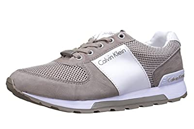 Calvin Klein Jeans Dusty Mesh/Washed Nubuck/Smoot, Men's Low-Top Sneakers