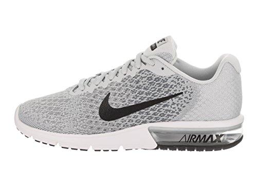 reputable site 23223 41326 Nike Air Max Sequent, Scarpe Sportive, Uomo Pure Platinum   Noir-cool Gris  ...