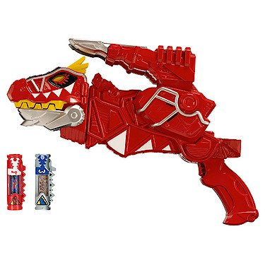 Power Rangers : Dino Super Charge – Morpher T-Rex Super Charge – DX Morpher Version Anglaise + 2 Dino