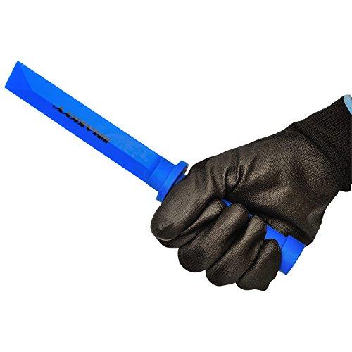 raschietto per rimuovere la valvola protezione paraurti protezione cerchioni Kit di montaggio per pneumatici Blu pesi adesivi attrezzi estrattore valvola