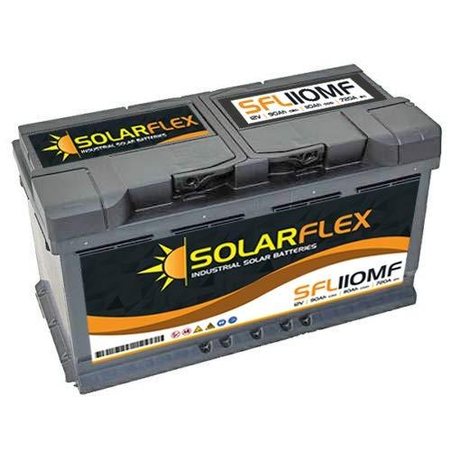 SFL110 Solarflex Industrial Solar Batteria 12V 70Ah 90Ah 110Ah