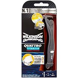 Wilkinson Sword - Quattro Titanium Precision - Rasoir pour homme