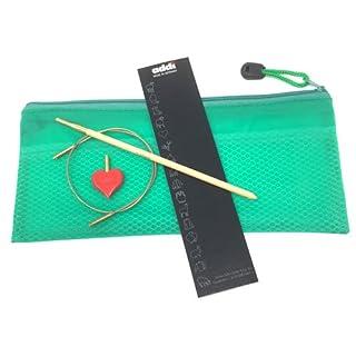 Hook Bamboo Häkelnadel Nr.5 inkl. Seil und Herzstopper