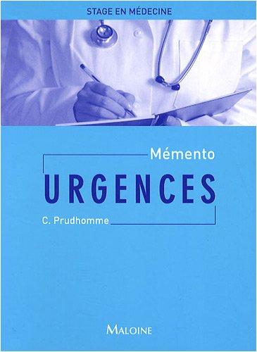Mémento Urgences