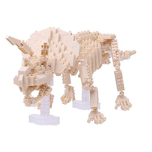Nanoblock NAN-NBM017 Triceratops Skeleton - Puzzle 3D