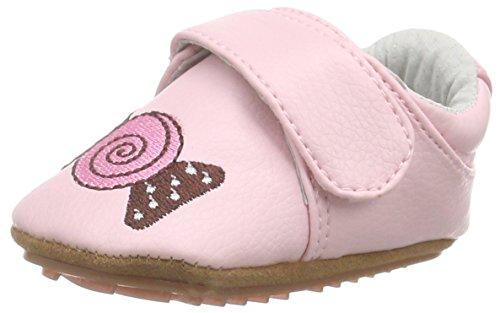 Rose & Chocolat Bonbon Paris Baby Fille Tapis Chaussures - Rose - Rose, 19 EU