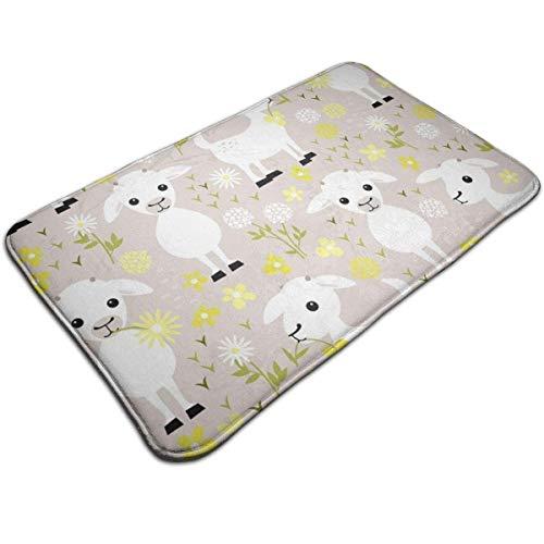 Zoom IMG-1 luxury baby goats floor mat