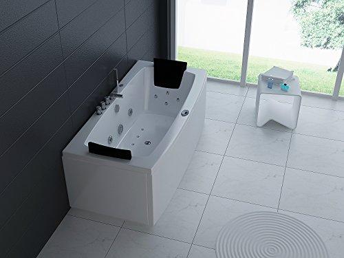 Luxus Whirlpool Badewanne 170×80 in Vollausstattung (Massage) – Sonderaktion
