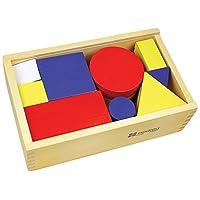 Andreu Toys 16164 Logic Blocks Set, Multicolour, 24.5 x 15 x 8 cm
