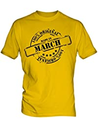Made In March - Mens T-Shirt T Shirt Tee Top