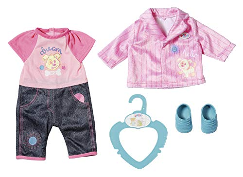 BABY Born 827369 Kleines Kita Outfit 36 cm, bunt -