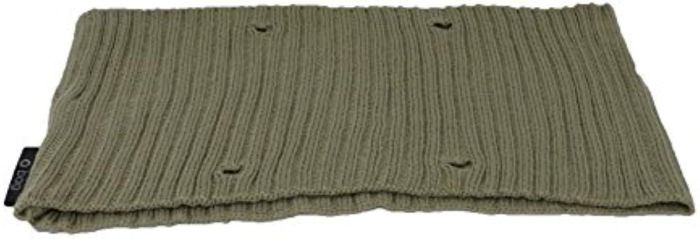 O Bag Mini Border Wool Ribbed Turtledove
