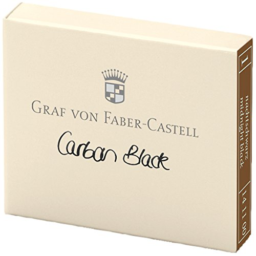 graf-von-faber-castell-ink-cartridges-carbon-black-pack-of-6