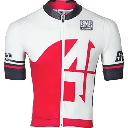 SANTINI FASHION INTERACTIVE AERO ROAD   JERSEY DE MANGA CORTA  COLOR ROJO  TALLA LARGE